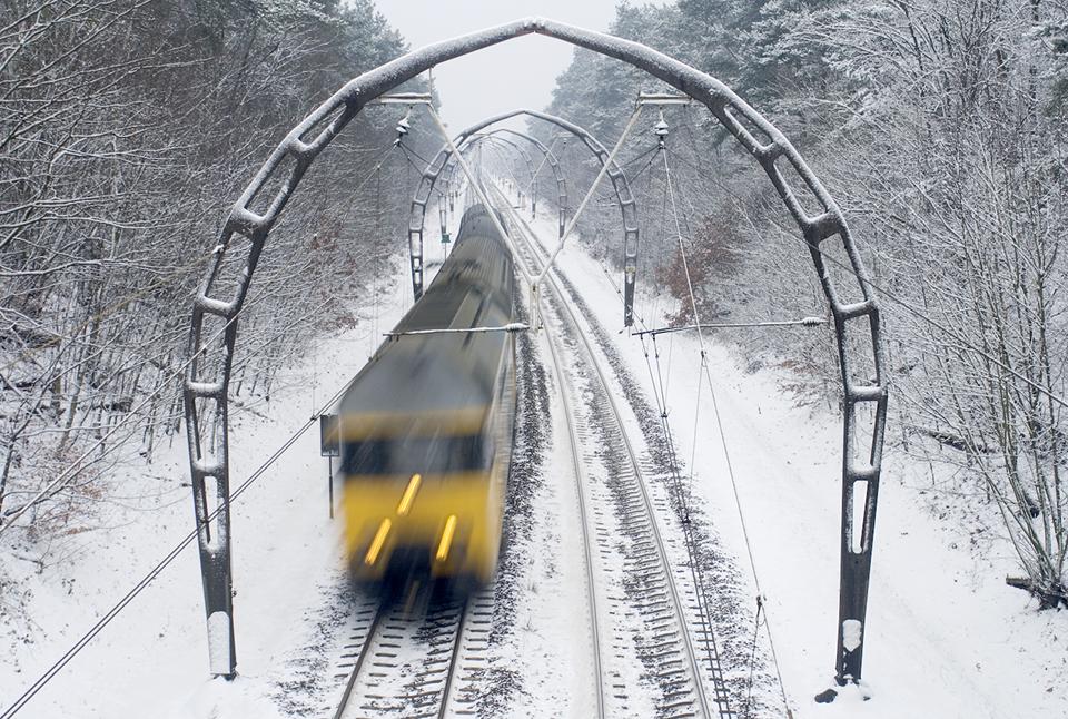 Winters treinverkeer